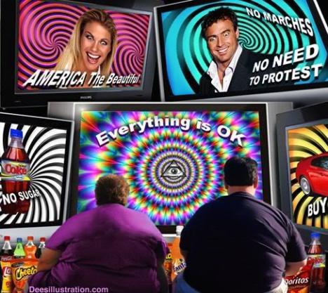 Resultado de imagen de illuminatis control tele