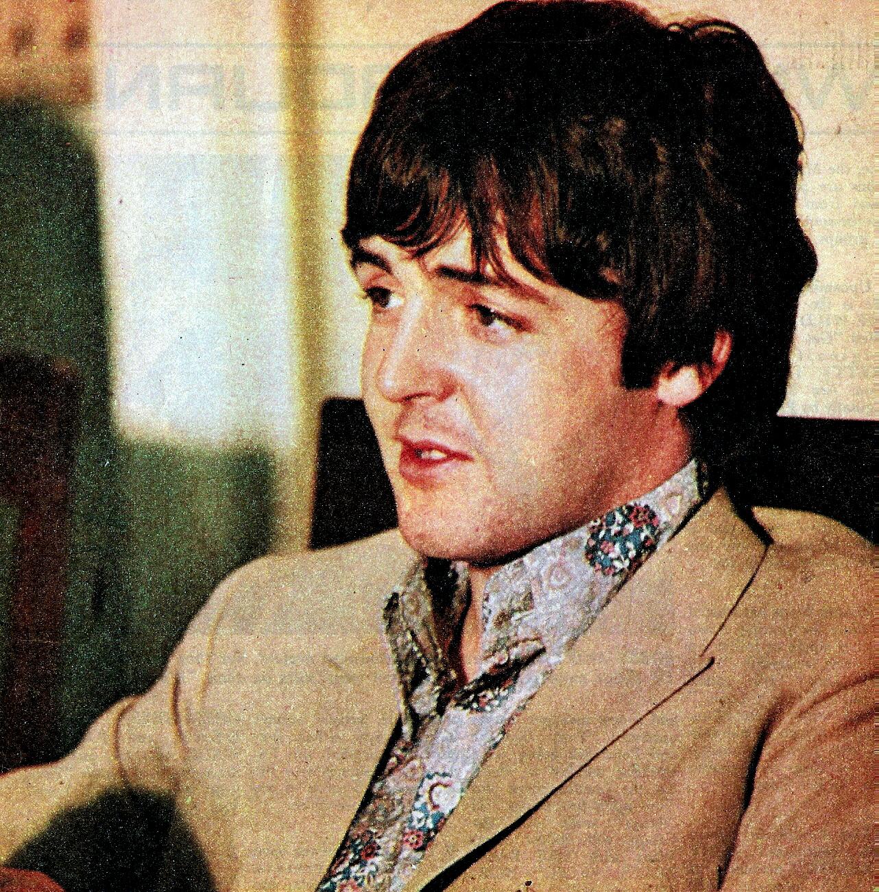 Paul Mccartney 1966