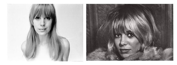 Marianne Faithfull and Anita Pallenberg.
