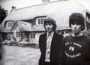 Mick and Keith pictured at Redlands, 1967.