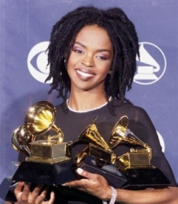 Lauryn at the 1999 Grammys where she picked up a total of five gongs.