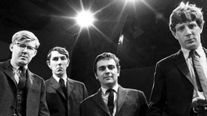 Beyond the Fringe... From left to right; Alan Bennett, Peter Cook, Dudley Moore, Jonathan Miller.