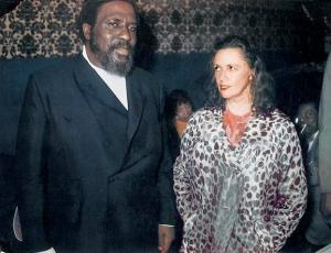 Thelonius Monk and Pannonica Rothschild