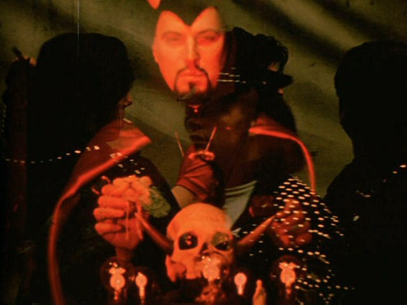 Anton LaVey in 'Invocation'...
