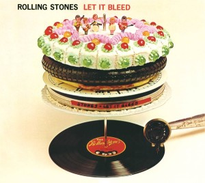 The 'Let It Bleed' album.
