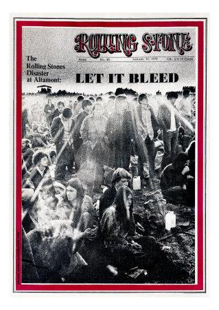 Rolling Stone magazine Altamont