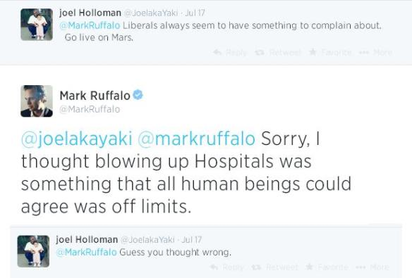 mark ruffalo tweet july 17-2