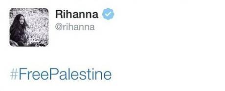 Rihanna palestine