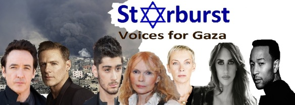 Starburst - Voices for Gaza banner