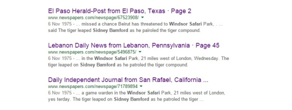 sidney bamford google