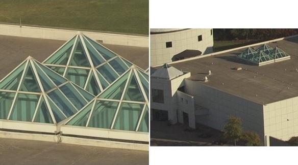 Paisley Park Studio Complex Pyramids