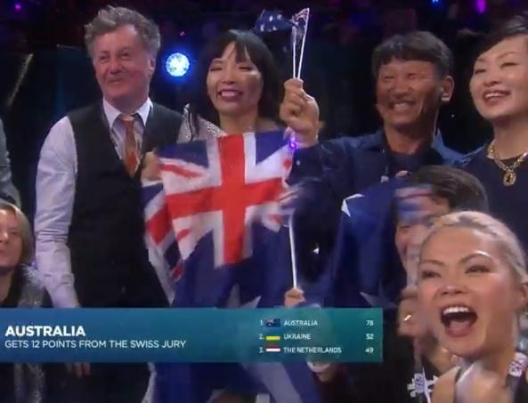 Dami Im & friends @ Eurovision 2016