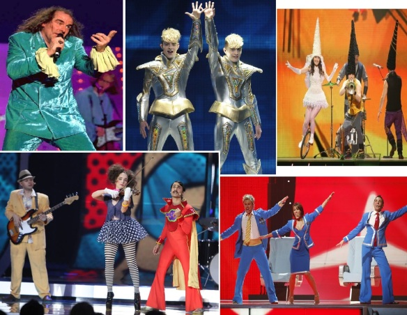 Eurovision costumes